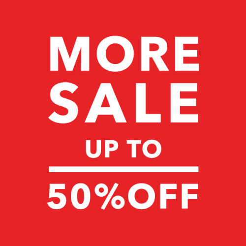 MORE SALE UP TO50%OFF!!